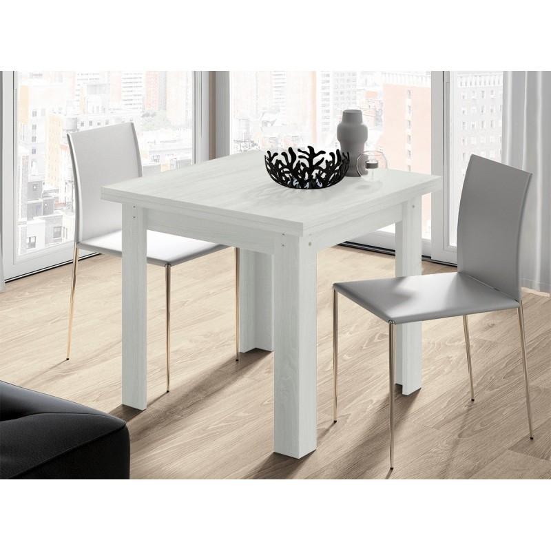 Mesa de comedor cuadrada with mesa de comedor cuadrada for Mesa cuadrada